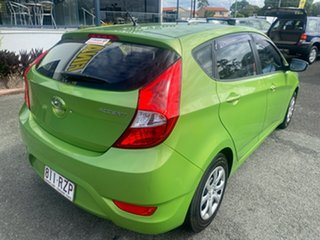 2011 Hyundai Accent RB Active Green 5 Speed Manual Hatchback