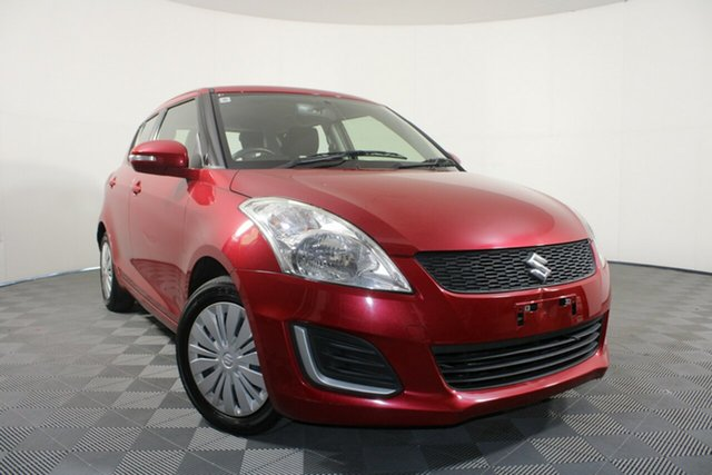 Used Suzuki Swift FZ MY15 GL Wayville, 2016 Suzuki Swift FZ MY15 GL Red 4 Speed Automatic Hatchback