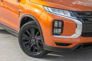 2019 Mitsubishi ASX XD MY20 GSR 2WD Orange 6 Speed Constant Variable Wagon.