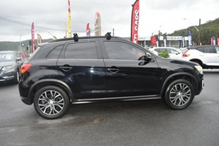 2016 Mitsubishi ASX XC MY17 LS 2WD Black 6 Speed Constant Variable Wagon.