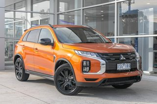 2019 Mitsubishi ASX XD MY20 GSR 2WD Orange 6 Speed Constant Variable Wagon.