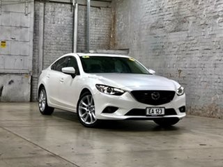 2014 Mazda 6 GJ1031 GT SKYACTIV-Drive White 6 Speed Sports Automatic Sedan.