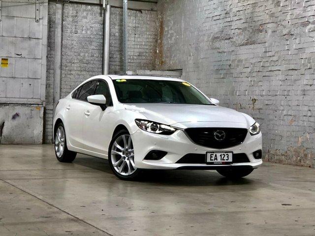 Used Mazda 6 GJ1031 GT SKYACTIV-Drive Mile End South, 2014 Mazda 6 GJ1031 GT SKYACTIV-Drive White 6 Speed Sports Automatic Sedan