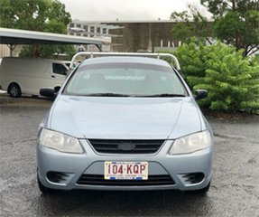 2007 Ford Falcon BF Mk II XL Blue 4 Speed Automatic Cab Chassis