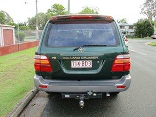 1998 Toyota Landcruiser UZJ100R GXV Green 4 Speed Automatic Wagon