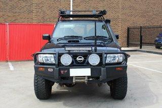 2001 Nissan Patrol GU II ST (4x4) Blue 5 Speed Manual 4x4 Wagon.