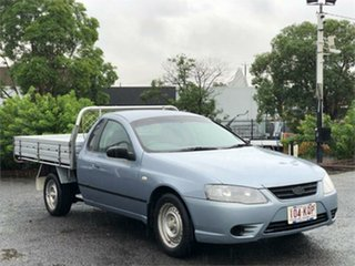 2007 Ford Falcon BF Mk II XL Blue 4 Speed Automatic Cab Chassis.