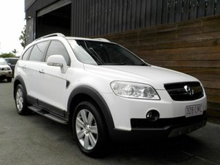 2009 Holden Captiva CG MY09 LX AWD White 5 Speed Sports Automatic Wagon.
