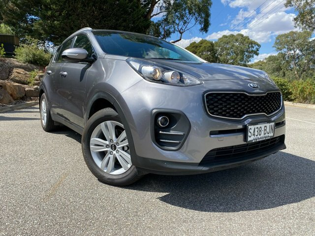 Used Kia Sportage QL MY16 Si 2WD Totness, 2016 Kia Sportage QL MY16 Si 2WD Mineral Silver 6 Speed Sports Automatic Wagon