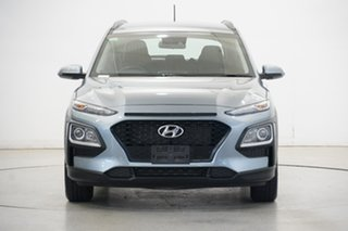 2019 Hyundai Kona OS.2 MY19 Go 2WD Silver 6 Speed Sports Automatic Wagon.