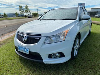 2012 Holden Cruze JH Series II MY12 SRi White 6 Speed Sports Automatic Sedan.