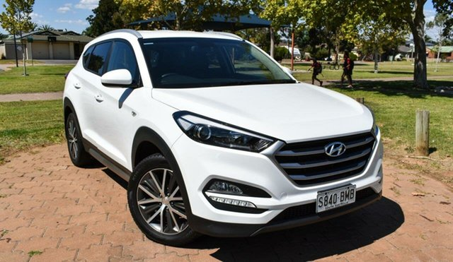 Used Hyundai Tucson TL Active X 2WD Ingle Farm, 2016 Hyundai Tucson TL Active X 2WD Pure White 6 Speed Manual Wagon