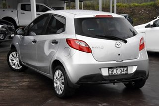 2009 Mazda 2 DE10Y1 Neo Silver 4 Speed Automatic Hatchback.