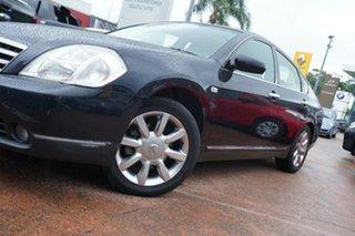 2004 Nissan Maxima J31 ST-L Black 4 Speed Automatic Sedan.
