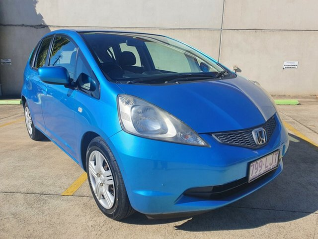 Used Honda Jazz GD VTi Toowoomba, 2008 Honda Jazz GD VTi Blue 5 Speed Manual Hatchback