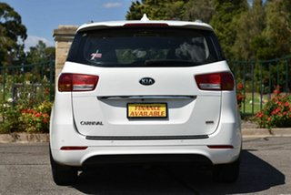 2017 Kia Carnival YP MY17 S White 6 Speed Sports Automatic Wagon