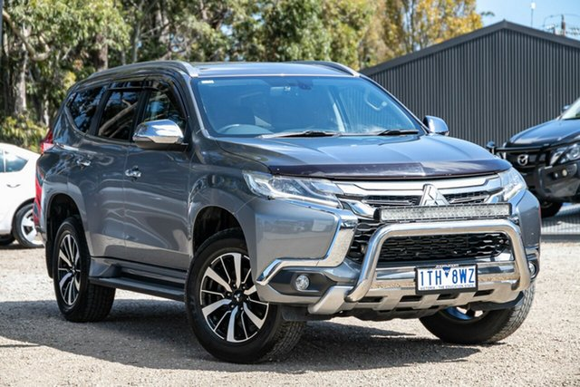 Used Mitsubishi Pajero Sport QE MY16 GLS Mornington, 2016 Mitsubishi Pajero Sport QE MY16 GLS Grey 8 Speed Sports Automatic Wagon