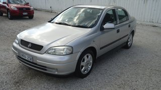 2001 Holden Astra TS CD Silver 5 Speed Manual Sedan
