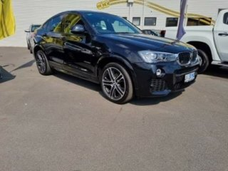 2015 BMW X4 F26 xDrive20d Coupe Steptronic Black 8 Speed Automatic Wagon.