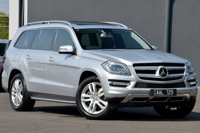 Used Mercedes-Benz GL-Class X166 GL350 BlueTEC 7G-Tronic + Moorabbin, 2013 Mercedes-Benz GL-Class X166 GL350 BlueTEC 7G-Tronic + Silver 7 Speed Sports Automatic Wagon