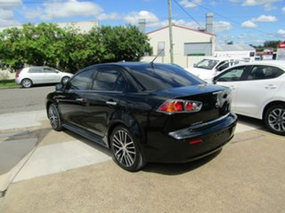 2017 Mitsubishi Lancer CF MY17 LS Black 6 Speed Constant Variable Sedan.