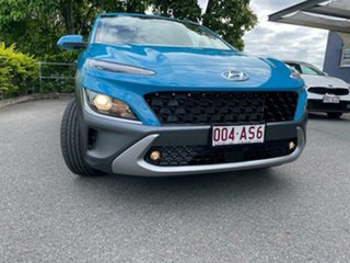 2020 Hyundai Kona Os.v4 MY21 Elite 2WD Dive in Jeju 8 Speed Constant Variable Wagon.