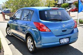 2006 Nissan Tiida C11 ST-L Blue 6 Speed Manual Hatchback.