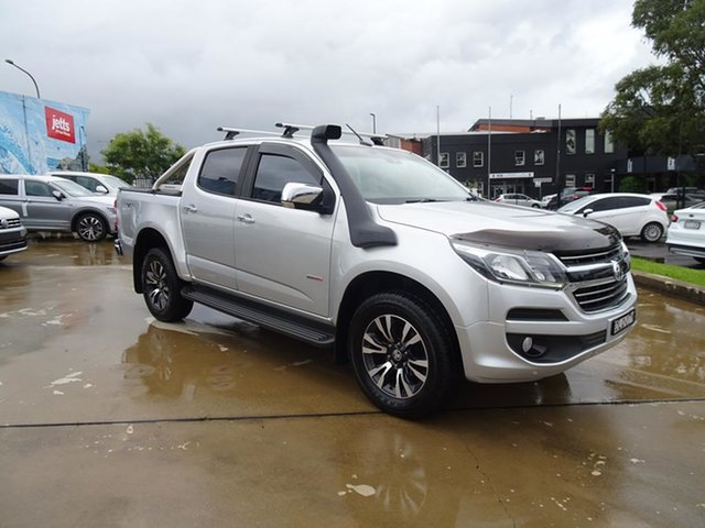 Used Holden Colorado RG MY17 LTZ Pickup Crew Cab Nowra, 2017 Holden Colorado RG MY17 LTZ Pickup Crew Cab Silver 6 Speed Automatic Utility