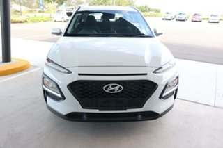 2019 Hyundai Kona OS.3 MY20 Go 2WD Chalk White 6 Speed Sports Automatic Wagon.