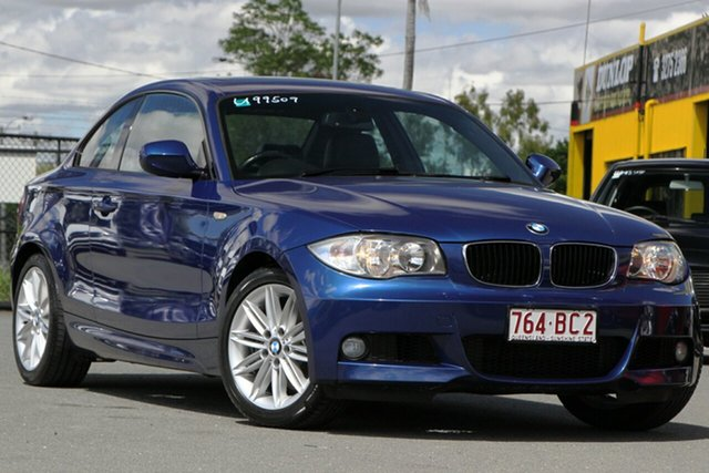 Used BMW 125i E82 MY10 125i Rocklea, 2010 BMW 125i E82 MY10 125i Le Mans Blue 6 Speed Manual Coupe