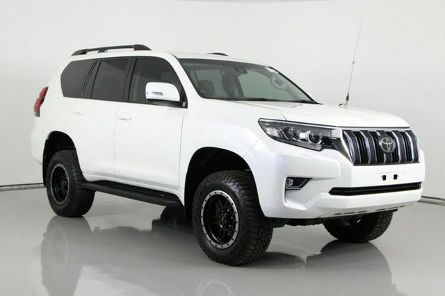 Used Toyota Landcruiser Prado GDJ150R MY17 GXL (4x4) Bentley, 2017 Toyota Landcruiser Prado GDJ150R MY17 GXL (4x4) Crystal Pearl 6 Speed Automatic Wagon