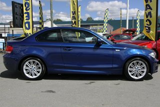 2010 BMW 125i E82 MY10 125i Le Mans Blue 6 Speed Manual Coupe