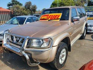 1998 Nissan Patrol GU TI Gold 4 Speed Automatic Wagon.