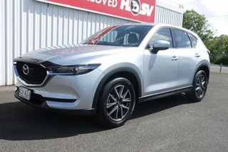 2018 Mazda CX-5 KF4WLA GT SKYACTIV-Drive i-ACTIV AWD Silver 6 Speed Sports Automatic Wagon