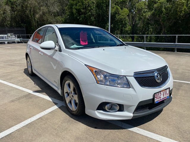 Used Holden Cruze JH MY12 SRi V Morayfield, 2011 Holden Cruze JH MY12 SRi V White 6 Speed Automatic Hatchback