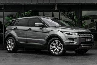 2012 Land Rover Range Rover Evoque L538 MY12 SD4 CommandShift Pure Grey 6 Speed Sports Automatic.