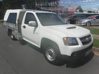 2009 Holden Colorado RC LX White 5 Speed Manual Cab Chassis.