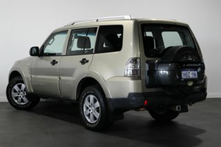 2008 Mitsubishi Pajero NS GLX Gold 5 Speed Sports Automatic Wagon