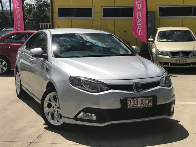 Used MG MG6 IP2X Magnette Standard Toowoomba, 2013 MG MG6 IP2X Magnette Standard Silver 5 Speed Manual Sedan