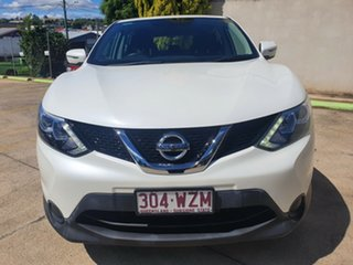 2014 Nissan Qashqai J11 ST White 1 Speed Constant Variable Wagon