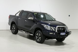 2017 Mazda BT-50 MY16 GT (4x4) Blue 6 Speed Automatic Dual Cab Utility
