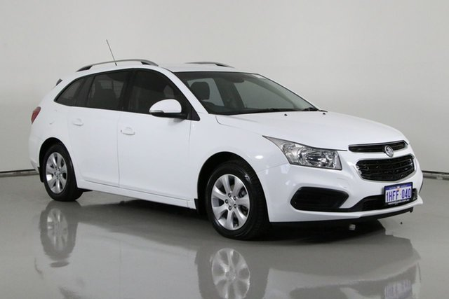 Used Holden Cruze JH MY16 CD Bentley, 2015 Holden Cruze JH MY16 CD White 6 Speed Automatic Sportswagon