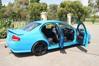 2007 Ford Falcon BF MkII XR6 Blue 6 Speed Auto Seq Sportshift Sedan