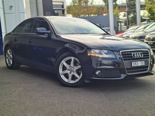 2009 Audi A4 Black 4 Speed Automatic Sedan.