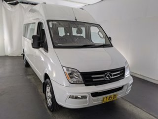 2015 LDV V80 High Roof LWB White 6 Speed Automated Manual Bus.