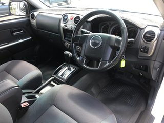 2010 Isuzu D-MAX TF MY10 LS-M (4x4) White 4 Speed Automatic Crew Cab Utility.