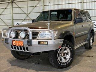 2002 Nissan Patrol GU III MY2002 ST Gold 5 Speed Sports Automatic Wagon.