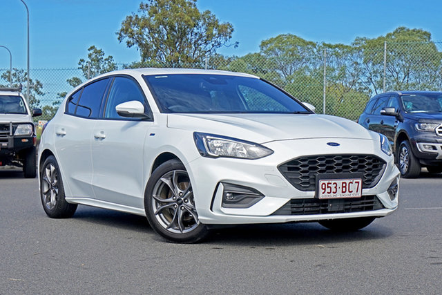 Used Ford Focus SA 2019.25MY ST-Line Ebbw Vale, 2018 Ford Focus SA 2019.25MY ST-Line 8 Speed Automatic Hatchback