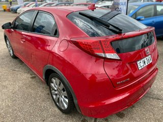 2013 Honda Civic 9th Gen MY13 VTi-L Red 5 Speed Sports Automatic Hatchback.