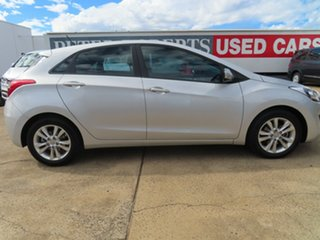 2014 Hyundai i30 GD MY14 SE Silver 6 Speed Automatic Hatchback.